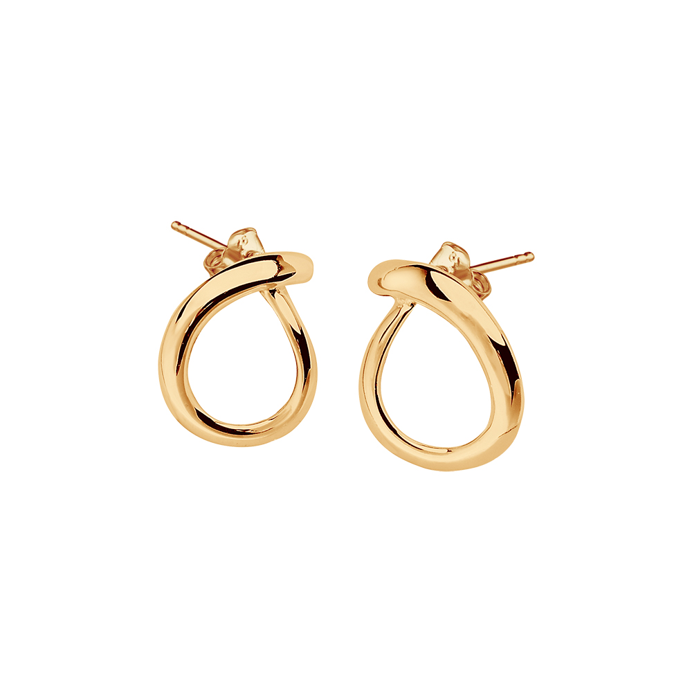 Ocean small studs gold