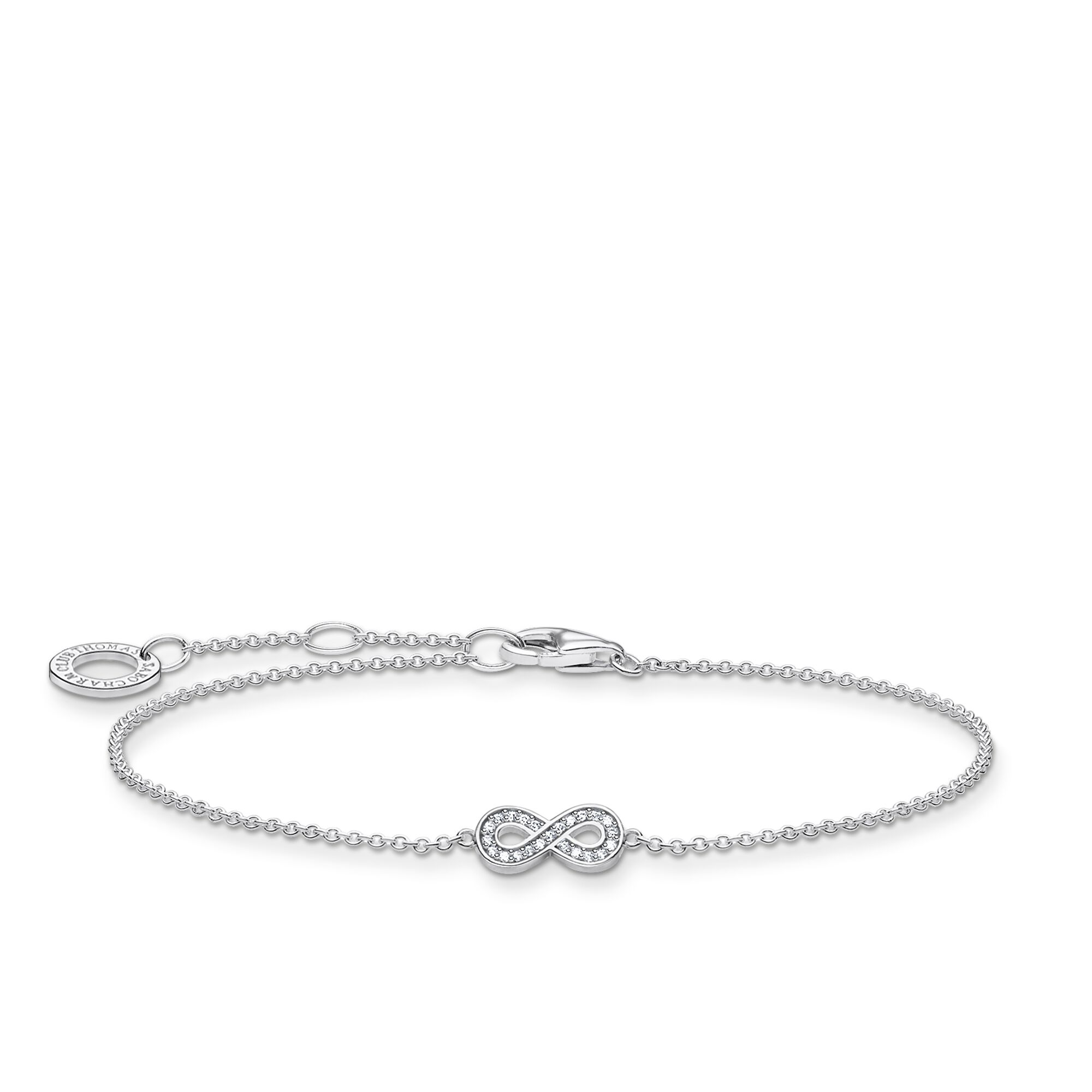 Armband infinity silver