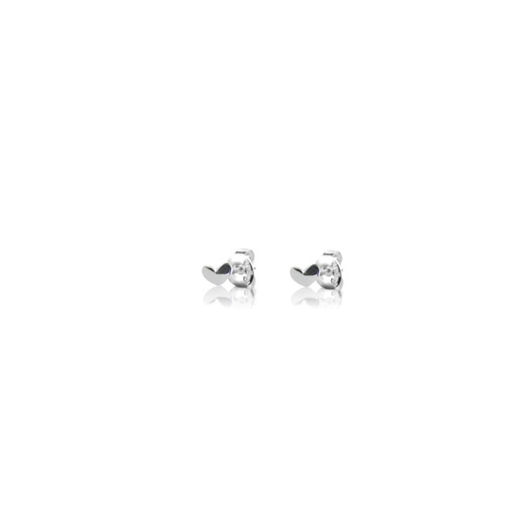 Loving heart drop studs
