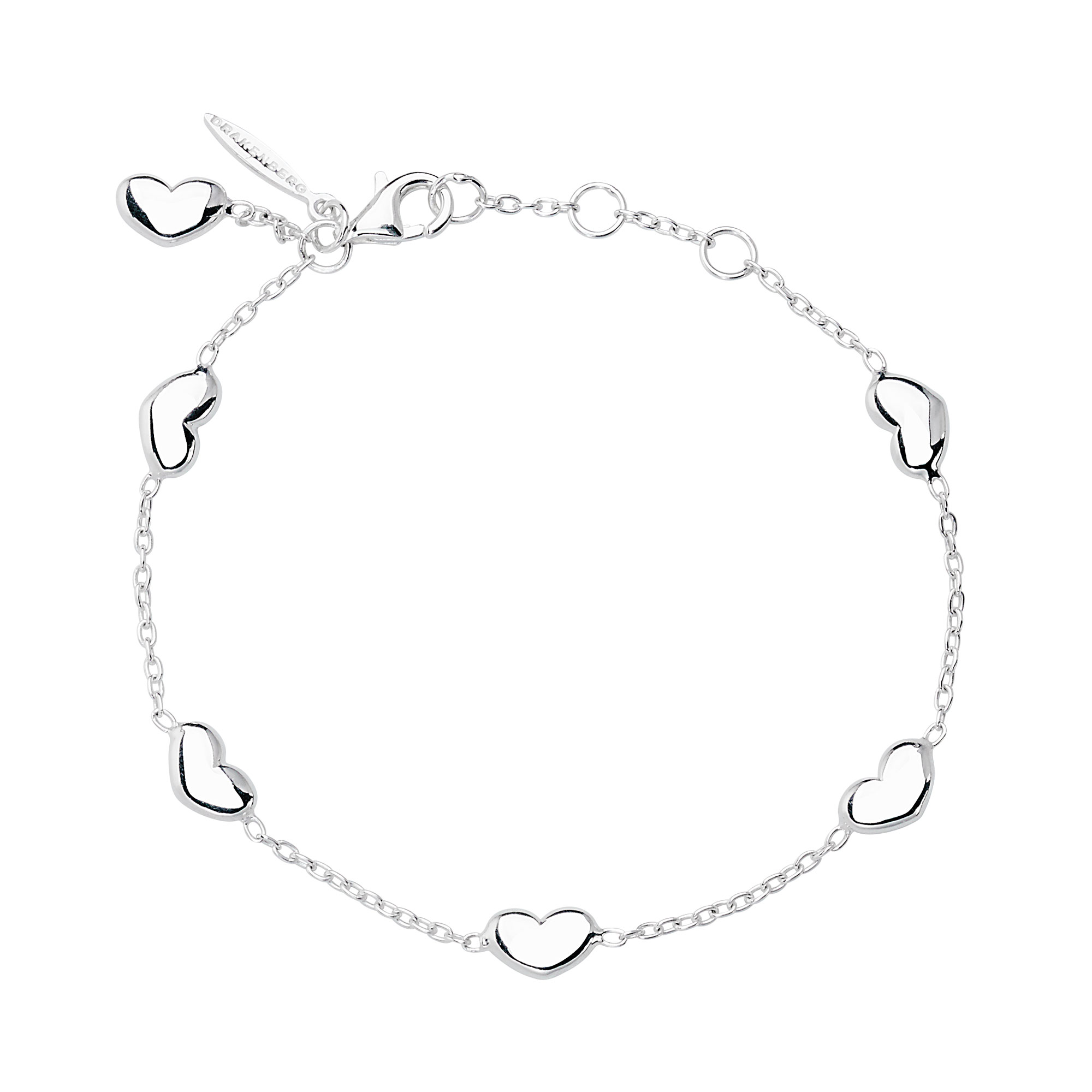 Loving heart medium bracelet