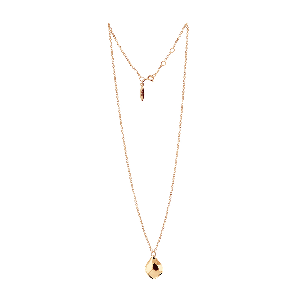 Gaias grace single necklace gold