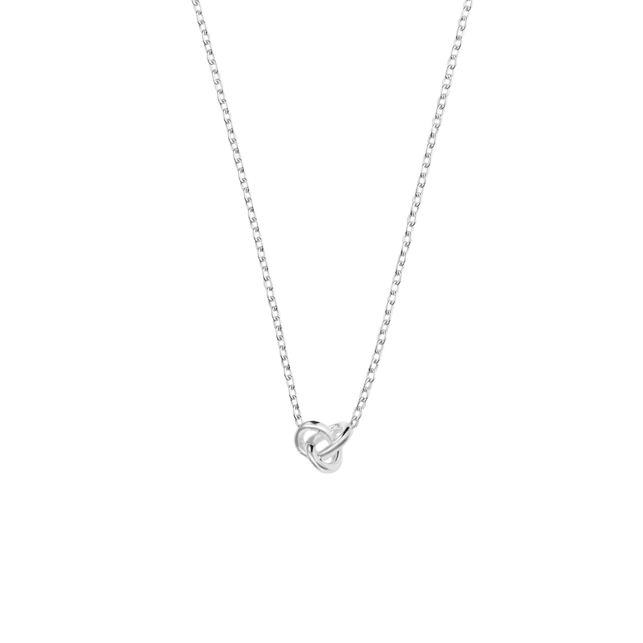 Le knot drop necklace