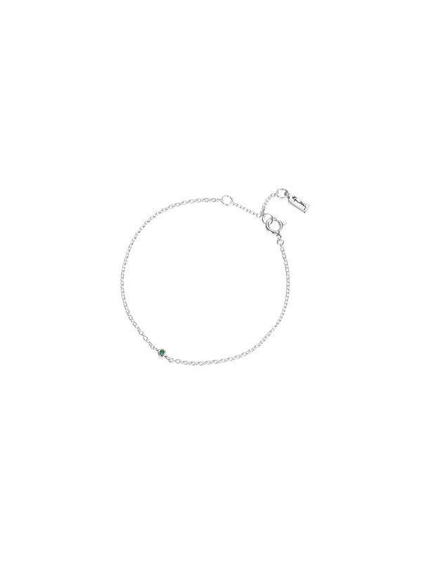 Micro blink bracelet - green emerald
